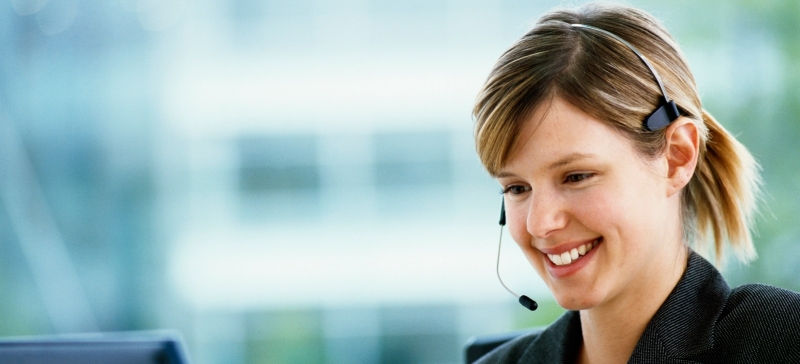 Image of a Customer Support executive