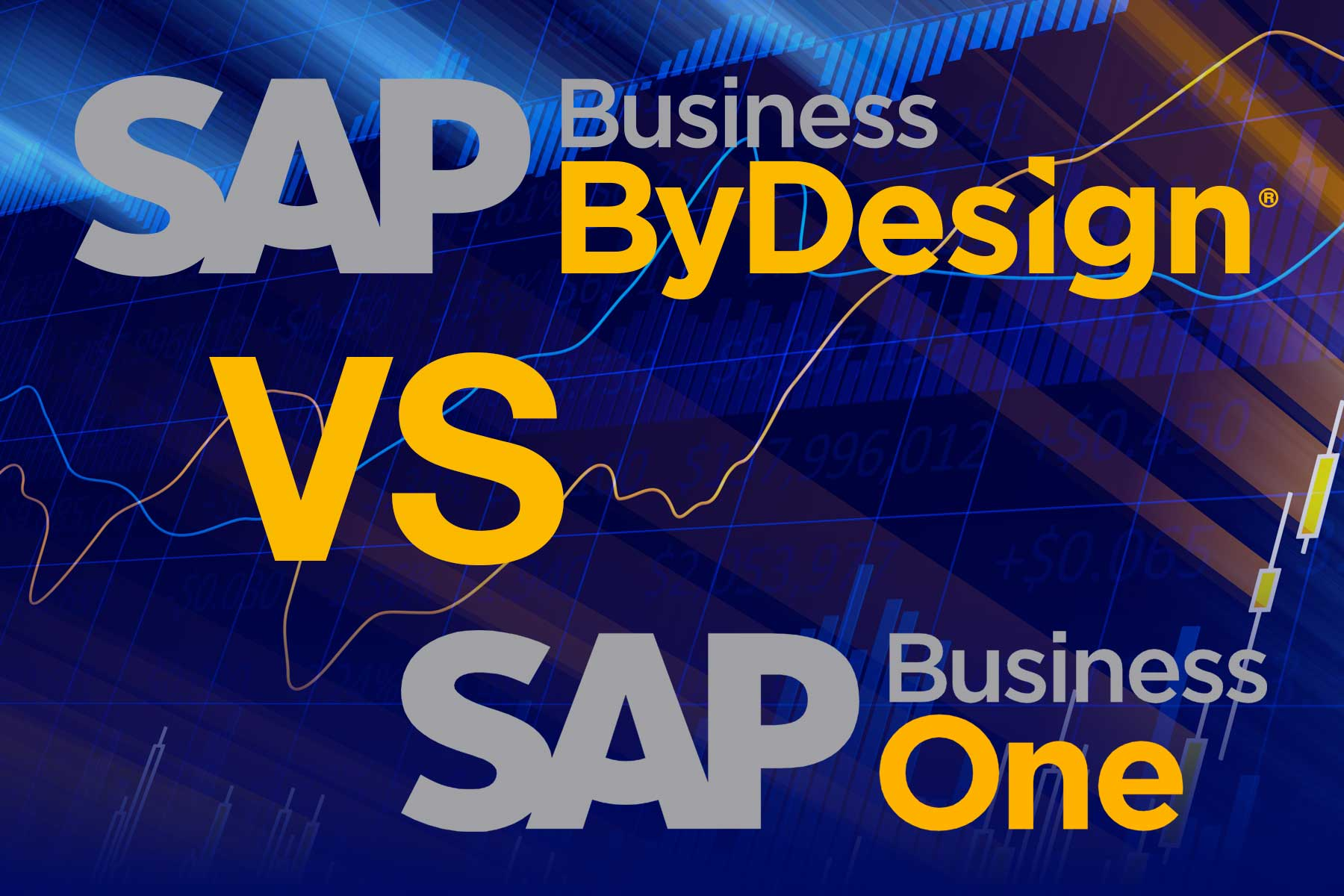 SAP Business ByDesign vs SAP Business One