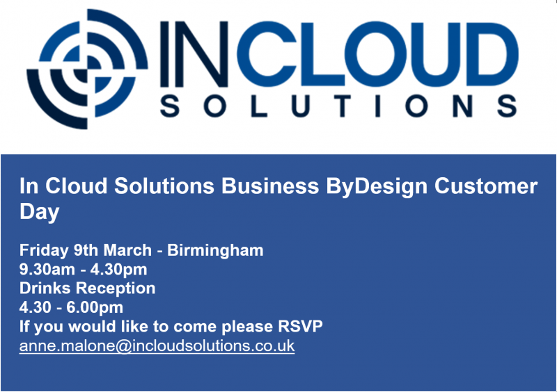 in cloud solutions customer day invite