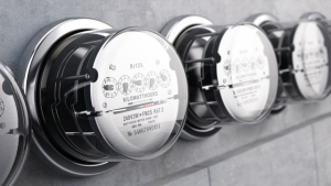 Image of electricity metres