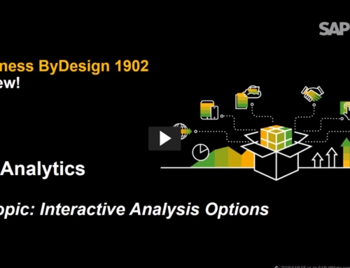 Better Business Insights with SAP Business ByDesign