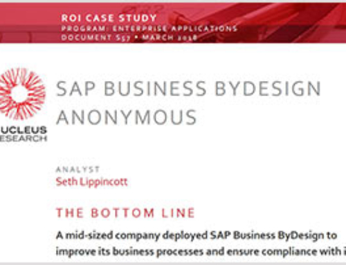 SAP Business ByDesign: ROI Case Study