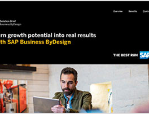 Turn Growth Potential Into Real Results With SAP Business ByDesign
