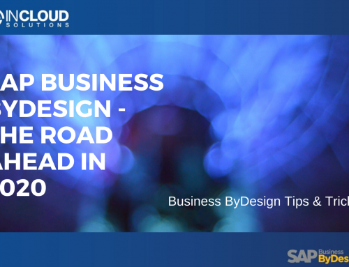 SAP Business ByDesign – The Road Ahead in 2020