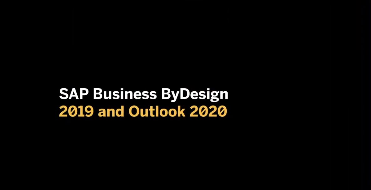 SAP Business ByDesign Outlook