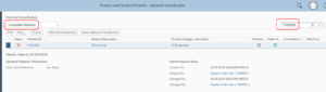 material classifications in business bydesign 2