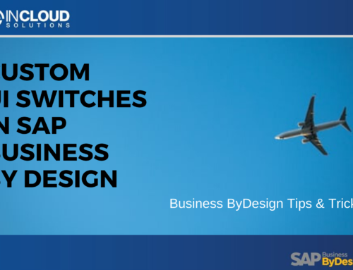 Custom UI Switches in SAP Business ByDesign