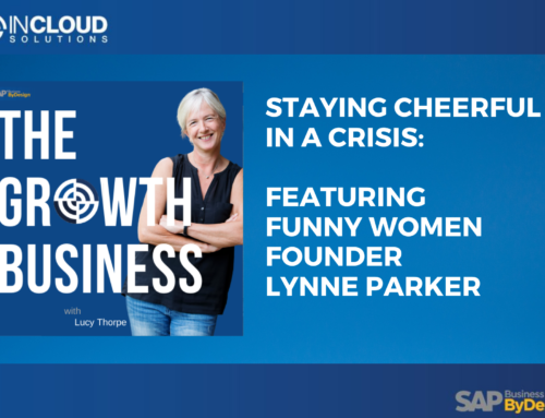 Staying Cheerful in a Crisis with Lynne Parker
