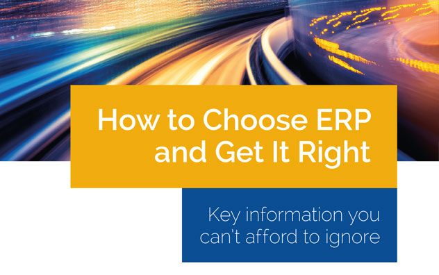 How To Choose ERP And Get It Right