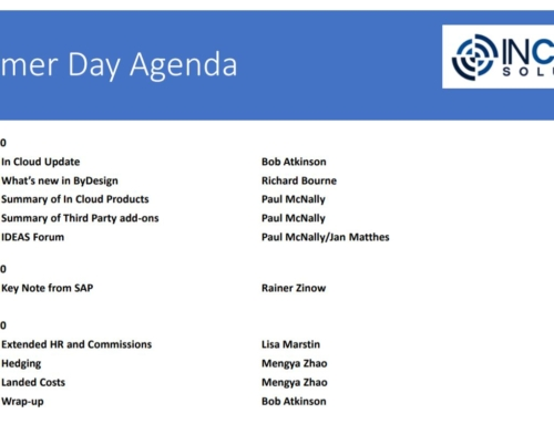 In Cloud Solutions Virtual Customer Day Agenda