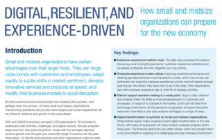 SAP Business ByDesign Whitepaper Digital, Resilient And Experience-Driven