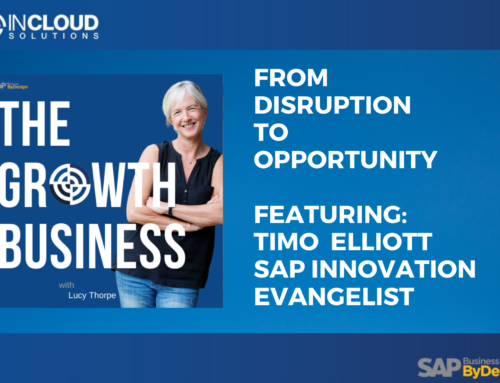 From Disruption to Opportunity Podcast: Timo Elliott