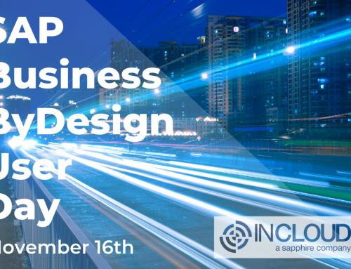 SAP Business ByDesign User Day
