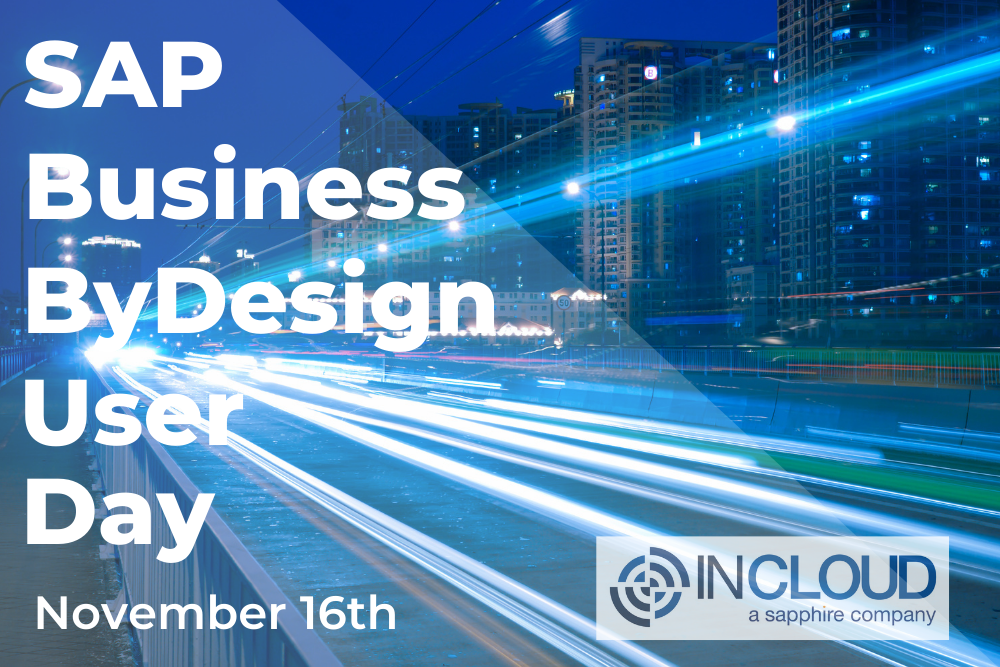 A user day event for SAP Business ByDesign customers